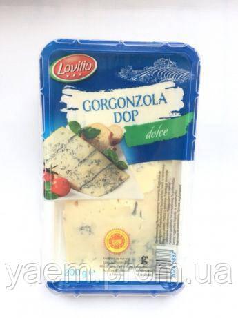 Сыр с голубой плесенью Lovilio Gorgonzola Dop Dolce, 200гр
