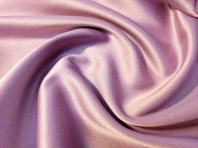 Атласные однотонные ткани