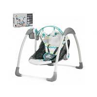 Кресло-качалка для ребёнка,качалка-шезлонг, Детская качель электрическая  Mastela 6503 11/49.2