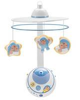 Дитяча Розвиваюча Музична Іграшка Підвіска-Мобіль-Карусель на ліжечко з проектором Перші мрії Chicco