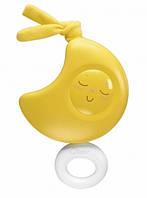 Дитяча Музична Підвісна Іграшка з закругленими формами на коляску і автолюльку МІСЯЦЬ жовта CHICCO