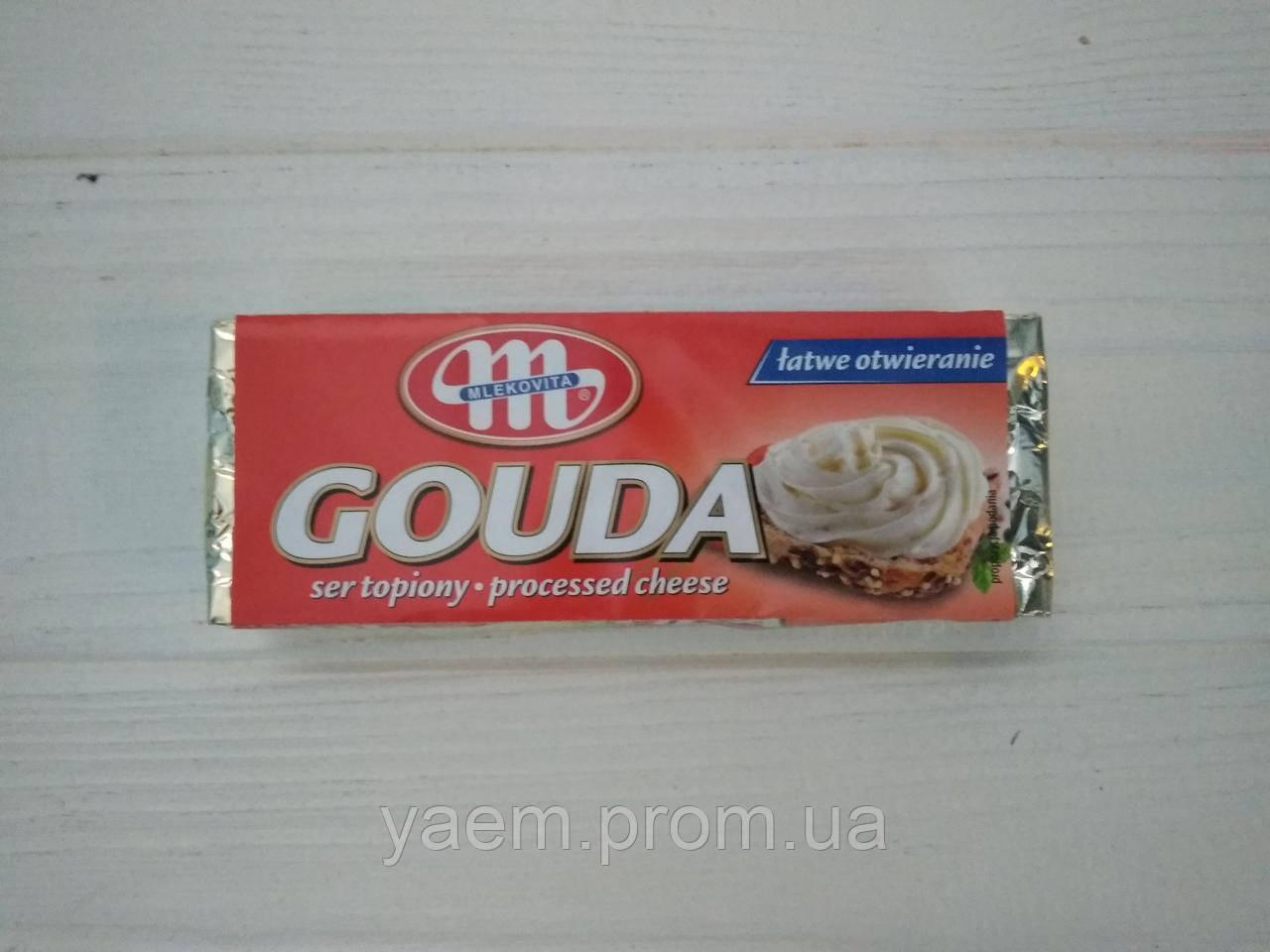 Сырок плавленый Mlekovita 100гр (Польша) gouda