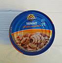 Консервированный тунец в подсолнечном масле Athena 160г/104г (Италия), фото 2