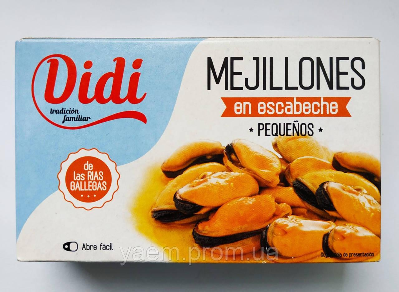 Мидии в россоле Didi 115/65гр (Испания)
