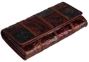 Кошелек женский Vintage 14349 кожаный Коричневый