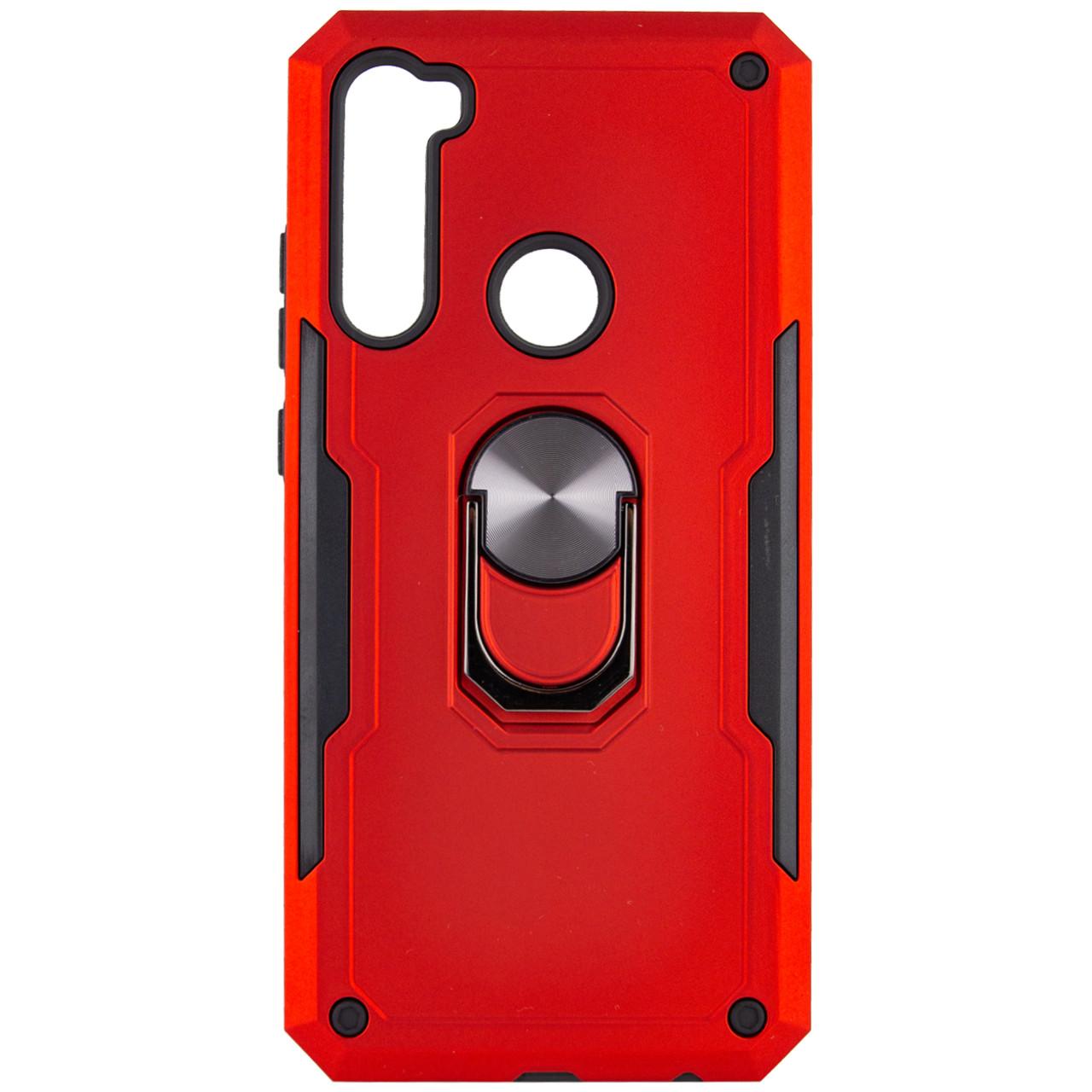 Ударопрочный чехол SG Ring Color магнитный держатель для Xiaomi Redmi Note 8T