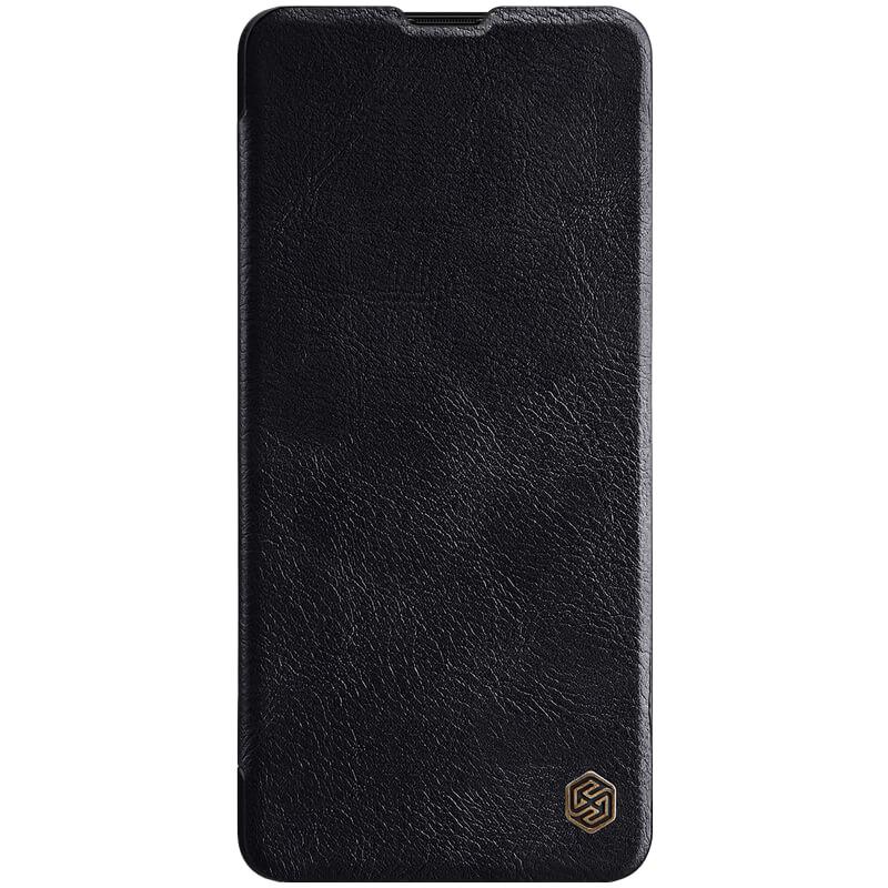 Кожаный чехол (книжка) Amax Qin Series для Samsung Galaxy A71 Черный