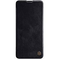 Кожаный чехол (книжка) Amax Qin Series для Samsung Galaxy A71 Черный, фото 1