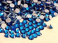 Термо стразы Lux ss16 Capri Blue (4.0mm) 100шт, фото 1