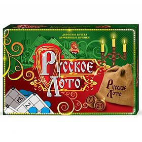 "Лото ""Русское лото"" зеленая коробка, Danko Toys"