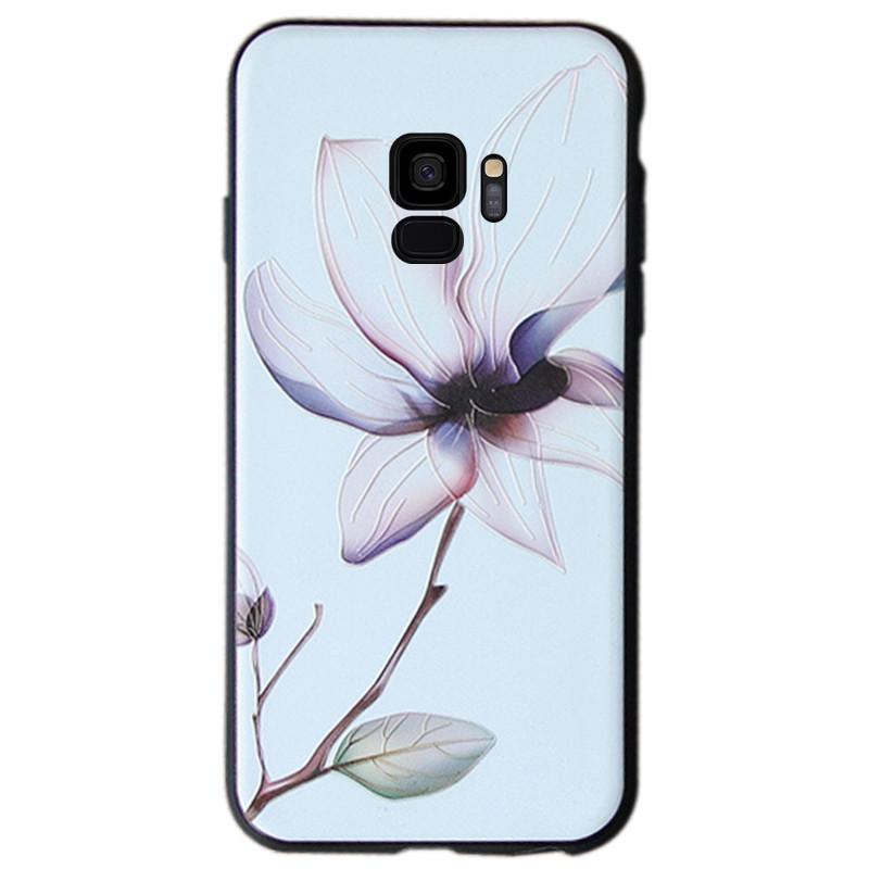 TPU чехол Магнолия для Samsung Galaxy S9