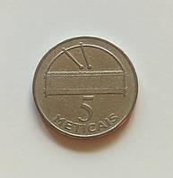 5 метикалов Мозамбик 2006 г., фото 1