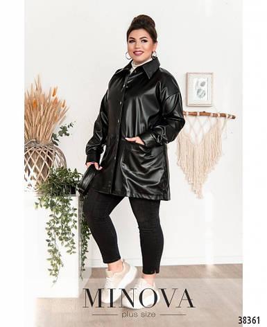 Куртка-пиджак размеры: 50-64, фото 2