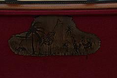 """Подарочный набор для мужчины с шампурами, охотничьим ножом, топором, флягой """"Сафари XXL"""", в кейсе из эко-кожи, фото 2"""