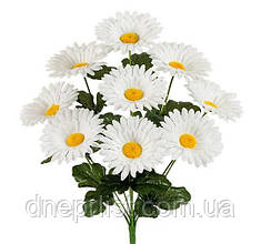 """Букет искусственный """"Ромашки белые"""" 9 цветков, 9 см, 40 см"""