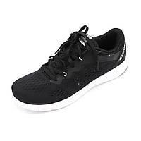 Кроссовки беговые женские повседневные, черный цвет (стоковая обувь) размер 40