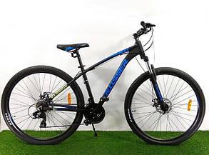 """Горный велосипед 29 дюймов Crosser Scorpio рама 17"""" BLACK-BLUE, фото 2"""