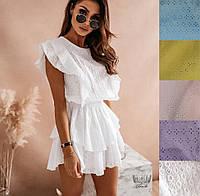 Плаття Сарафан женское прогулочное нарядное практично пляжное красивое белье летнее лехкое девочки подросток