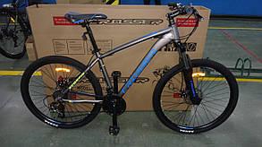 """Гірський велосипед 29 дюймів Crosser Scorpio рама 17"""" GREY-BLUE, фото 2"""