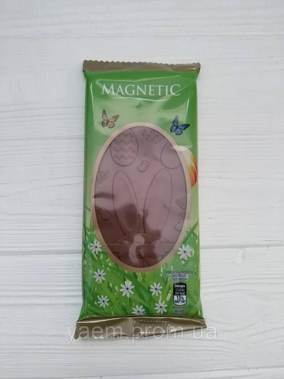 Молочный шоколад пасхальный Magnetic 100гр (Польша)