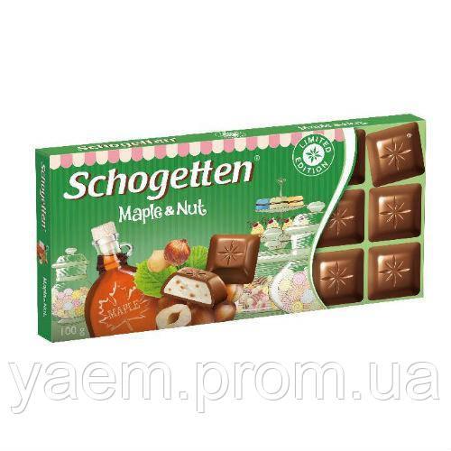 Шоколад Schogetten (Германия) 100, Schogetten, Германия, Молочный