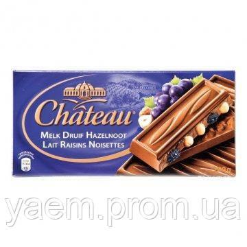 Шоколад Chateau 200г (Германия) 200, Melk Druif Hazelnoot