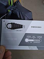 Спальний мішок Hiberhide 10 арт 68102 Сірий, фото 3
