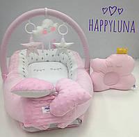 Кокон-гнездышко для новорожденных Happy Luna Сон 3