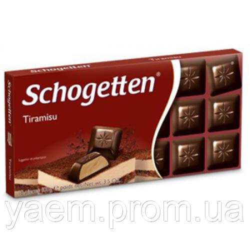 Шоколад Schogetten (Германия) 100, Tiramisu (тирамису)