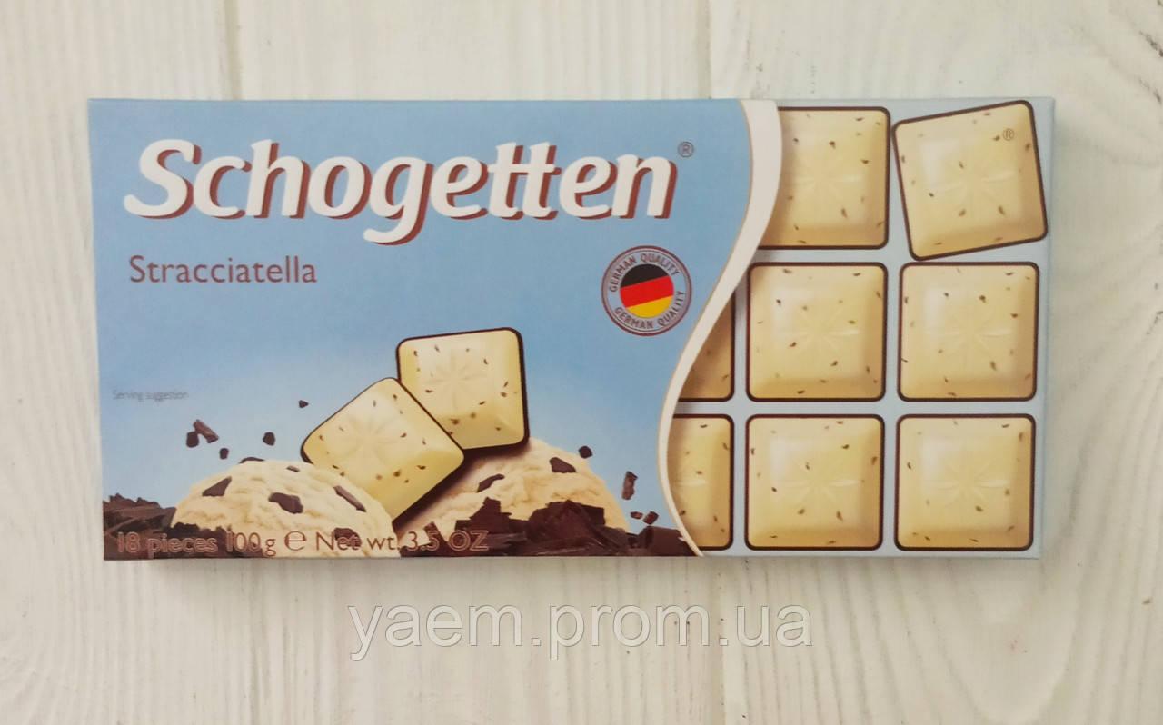 Шоколад Schogetten (Германия) Stracciatella (страчателла), 100