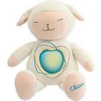 Детский Игровой Разноцветный Музыкальный Ночник Овечка плюшевая игрушка-проектор Sweetheart Chicco Чико
