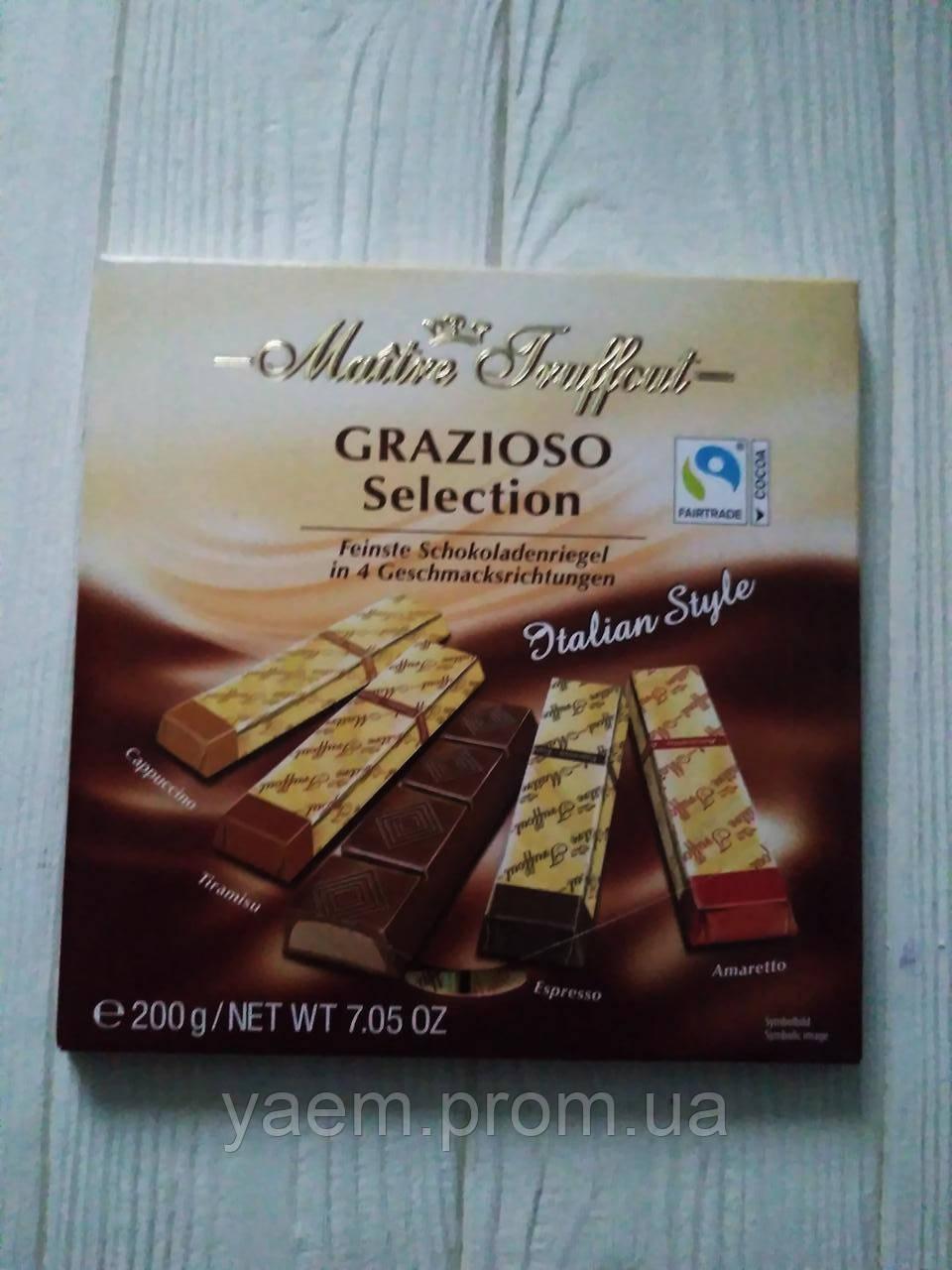 Шоколадные конфеты Maitre Truffout Grazioso Selection Classic Style 200g (Австрия)