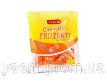 Карамельки Dolciando Caramelle Frizzanti апельсин и лимон, 200гр