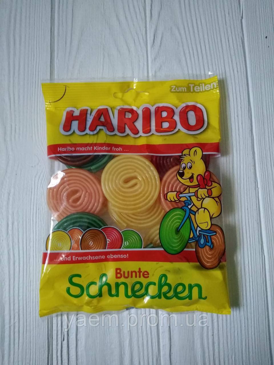 Желейные конфеты Haribo Schnecken 175гр. (Германия)