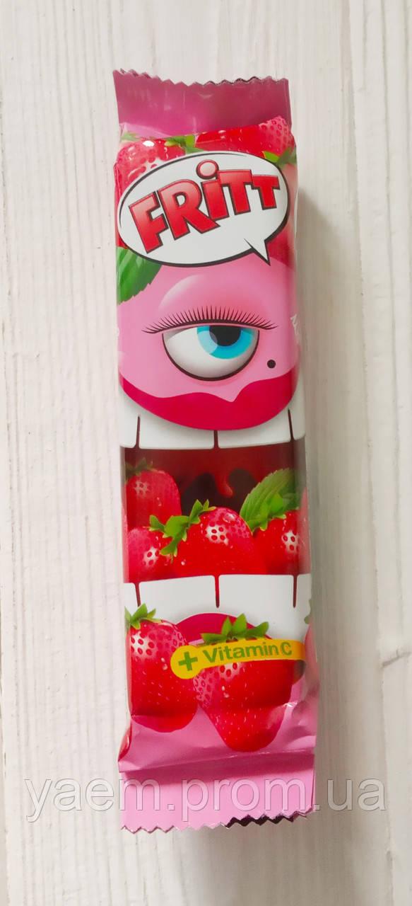 Жевательные конфеты с фруктовым вкусом и витамином С Fritt 70g (Германия) клубника