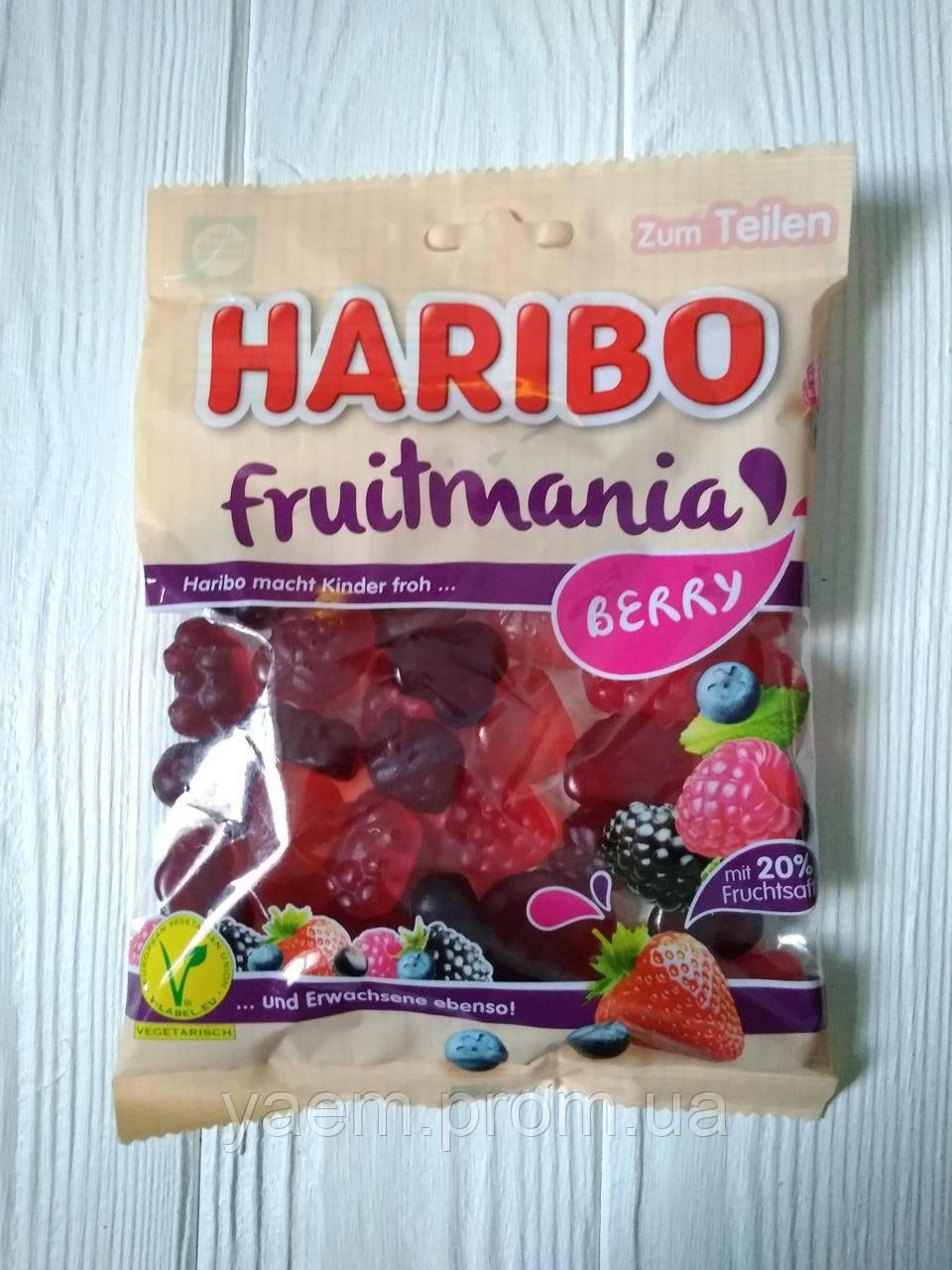 Желейные конфеты Haribo Fruitmania berry 175гр. (Германия)
