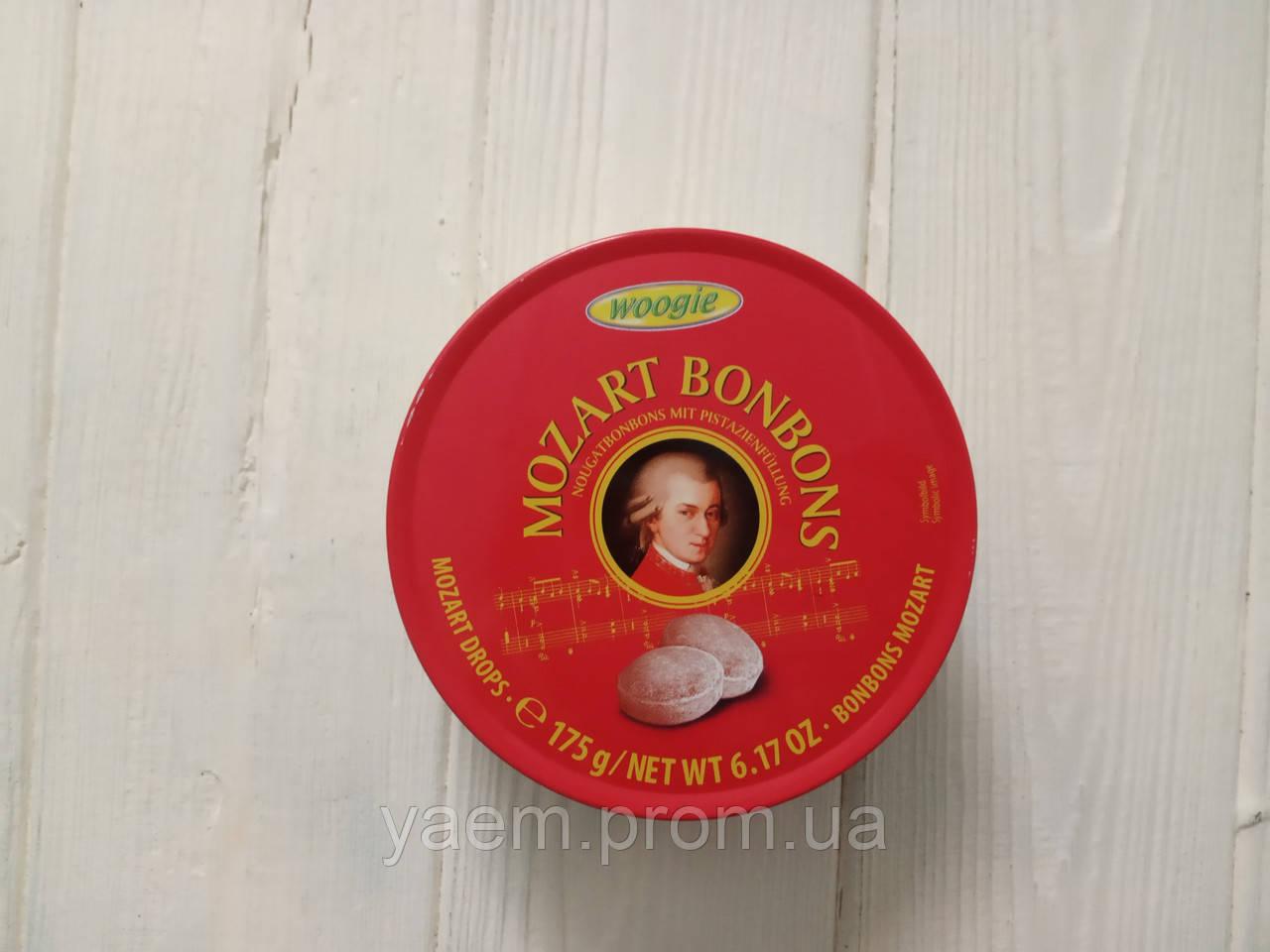 Леденцы Woogie Mozart Bonbons со вкусом нуги и фисташек 175 g