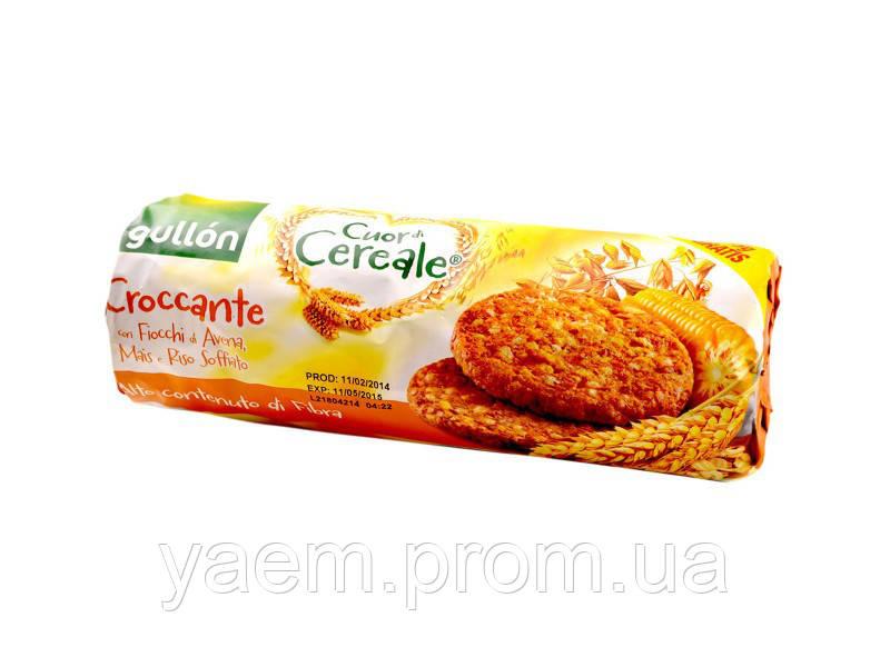 Кукурузное печенье Gullon Cuor di Cereale, 265гр (Испания)