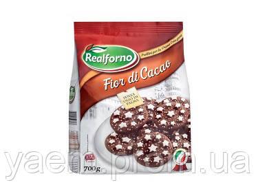 Печенье песочное с какао Realforno Fior di Cacao (Италия) 700г