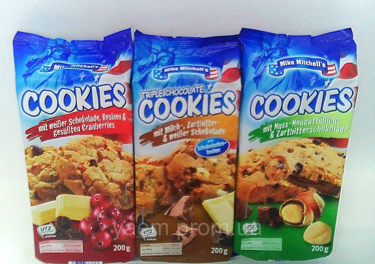 Печенье Cookies Mike Mitchell's 200г (Германия)
