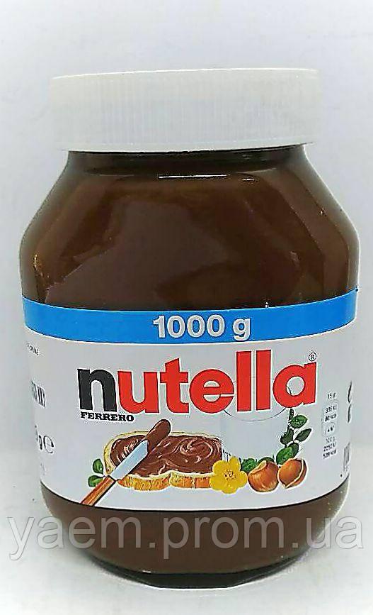 Шоколадно - ореховая паста Nutella 1000гр. (Германия)