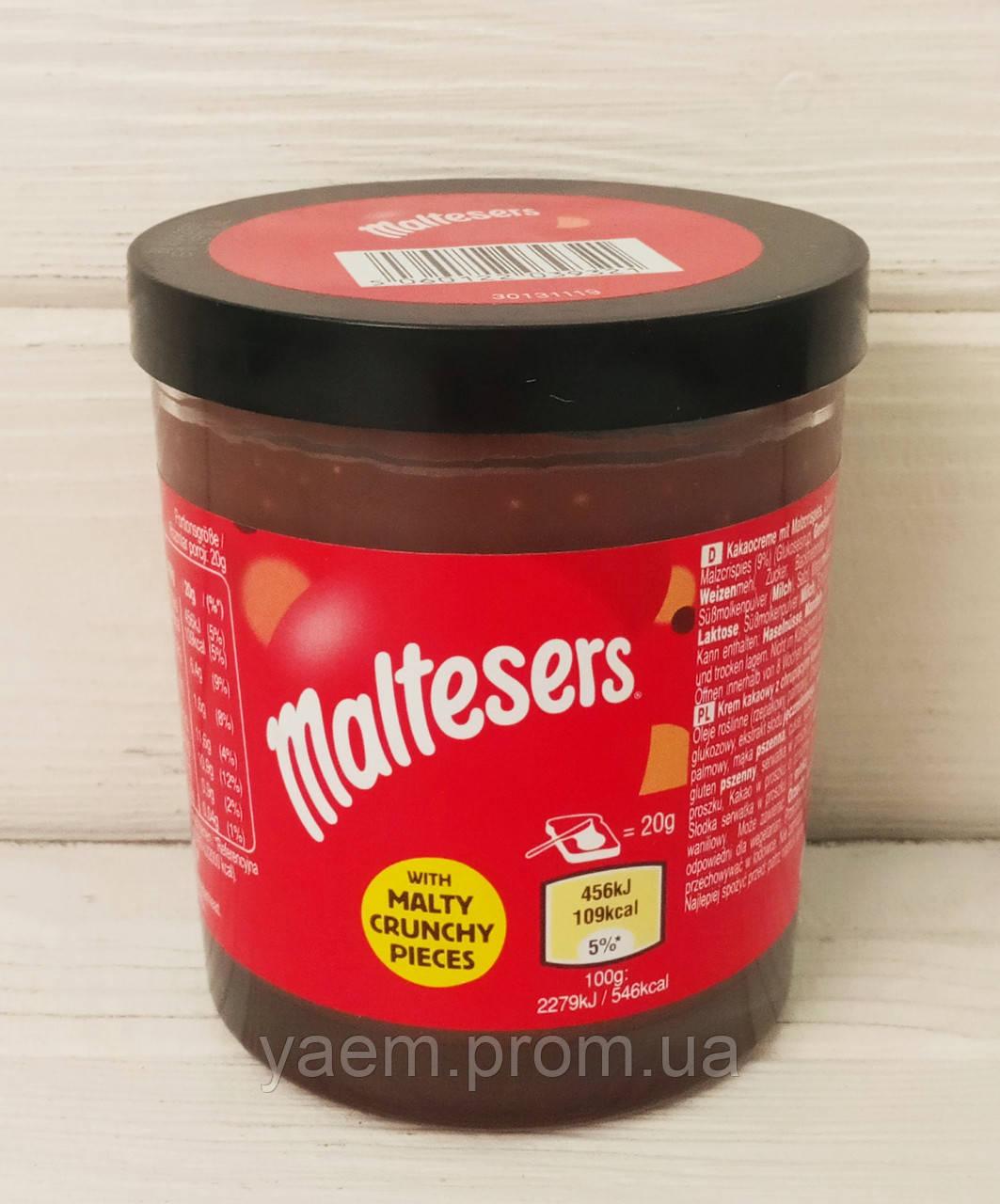 Крем шоколадный кусочками печенья Maltesers Teasers 200g (Великобритания)