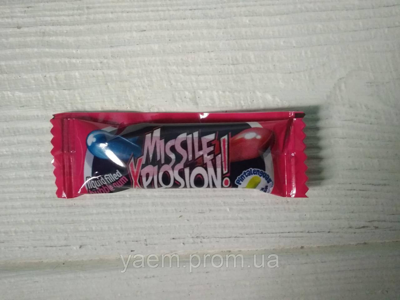 Жевательная резинка Fini Missile Xplosion 5гр (Испания)