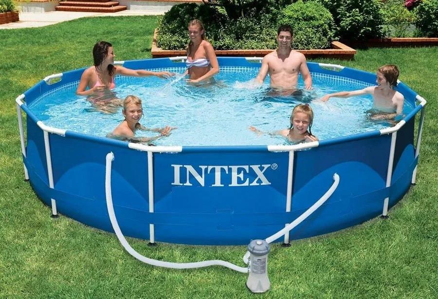 Каркасный бассейн Intex Metal Frame Pool 56992 366 см х 76 см