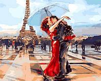Картина по номерам Париж - город влюбленных, 40x50 см., Mariposa