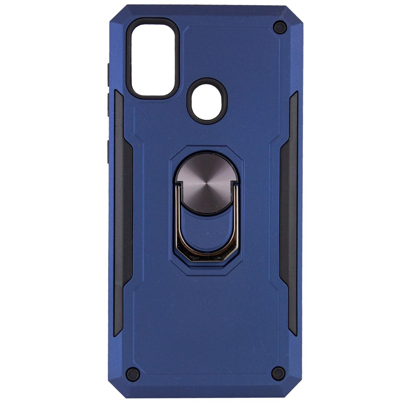 Ударопрочный чехол SG Ring Color магнитный держатель для Samsung Galaxy M30s / M21