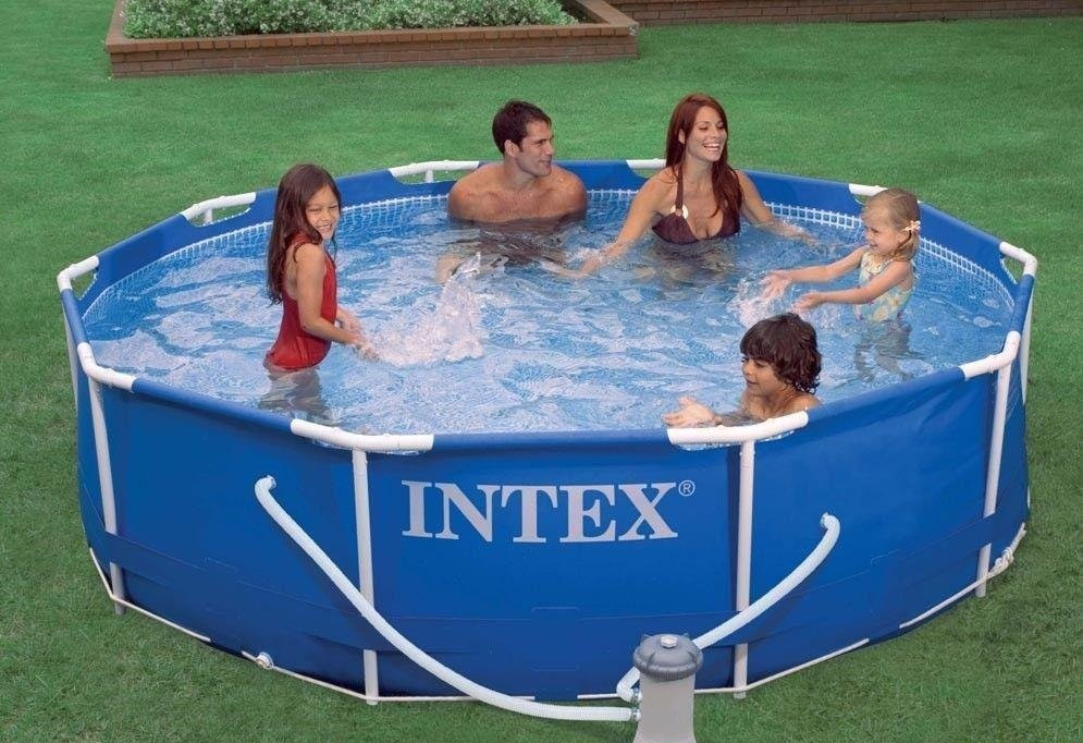 Каркасный бассейн Intex Metal Frame Pool 28220 305 см х 76 см