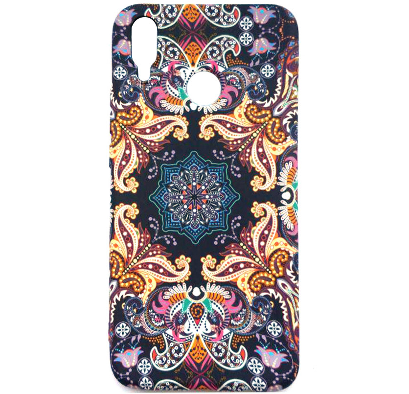 TPU чехол Акварель Flower series для Samsung Galaxy M20