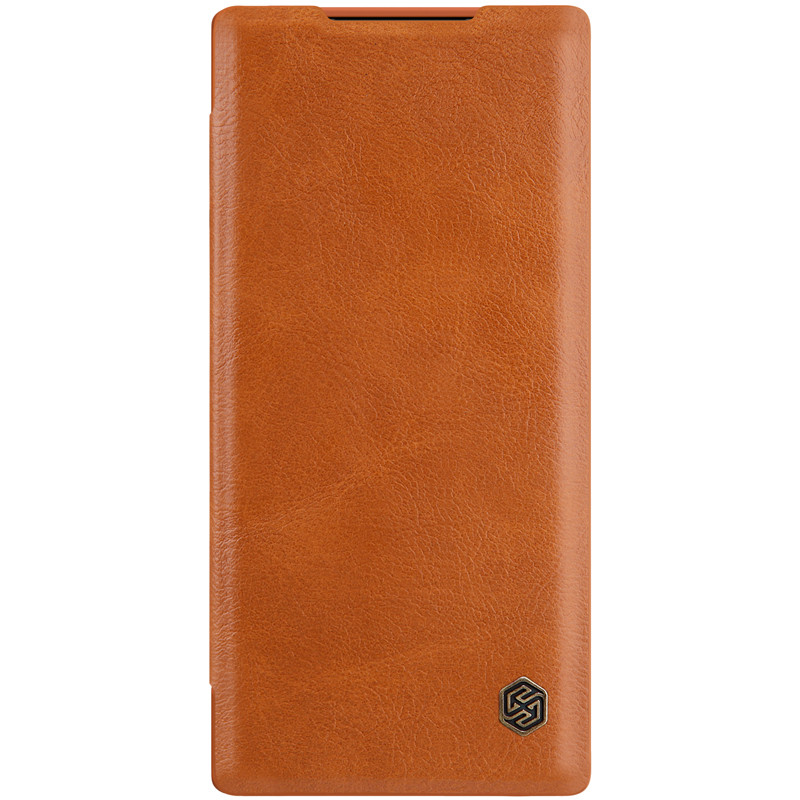 Кожаный чехол (книжка) Amax Qin Series для Samsung Galaxy Note 10 Plus