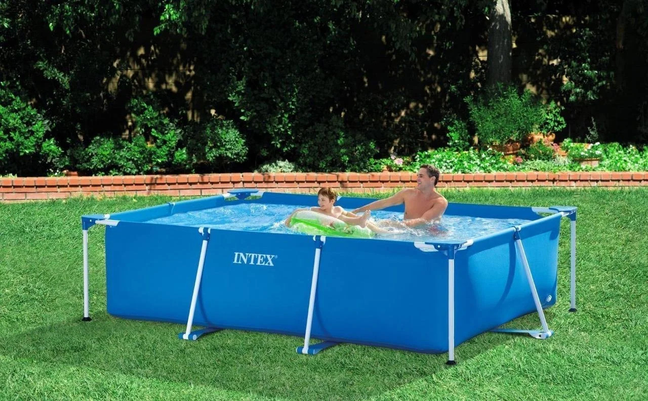 Каркасный бассейн Intex Metal Frame Pool 28272 300 см х 200 см х 75 см